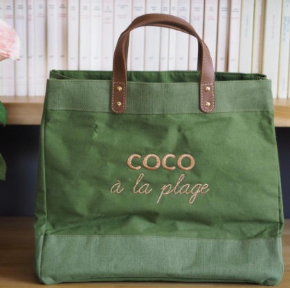 Cabas COCO À LA PLAGE Mademoiselle Fani70