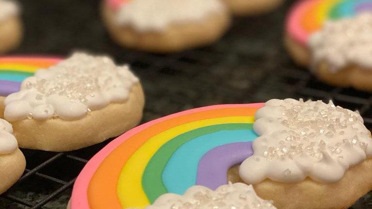 1 Dozen Custom Sugar Cookies