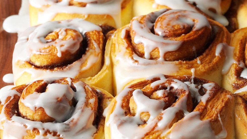 Take & Bake Cinnamon Rolls - 1/2 dozen