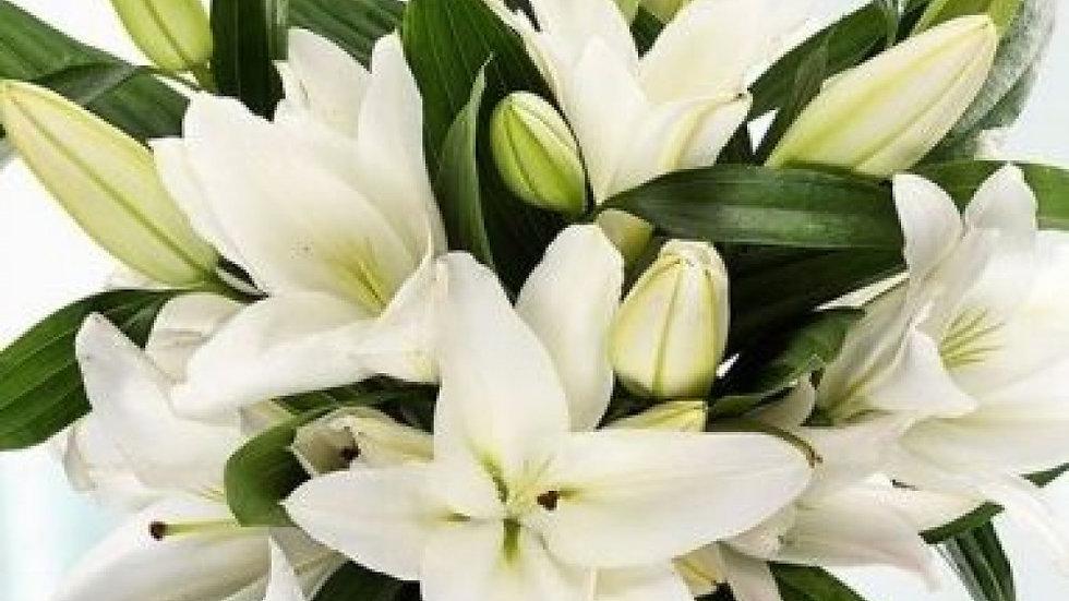 Lily bouquet