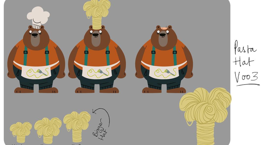 Morty Pasta Hat
