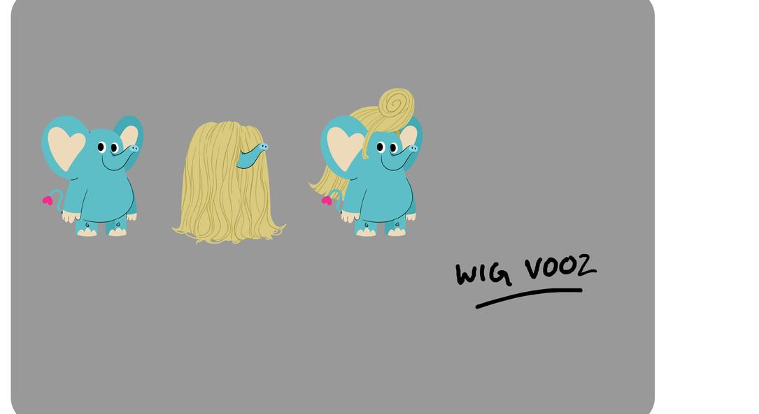 Pasta Wig