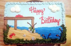 Beach Cake 10