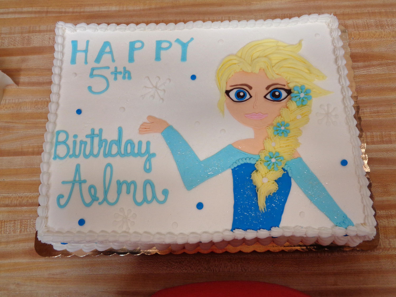 Elsa Cake 43