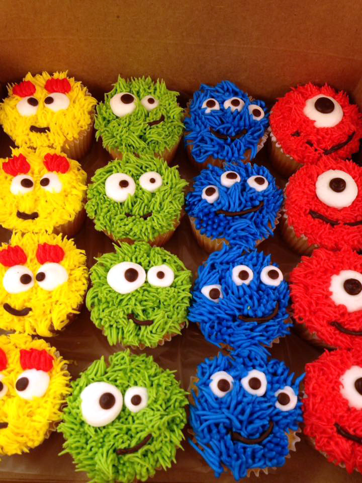 Adorable Monster Cupcakes 14