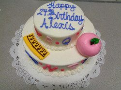 Teacher Theme Cake 4