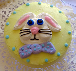 Easter Bunny Purple Tie