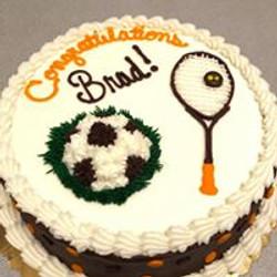 Congrats Sports Cake 27