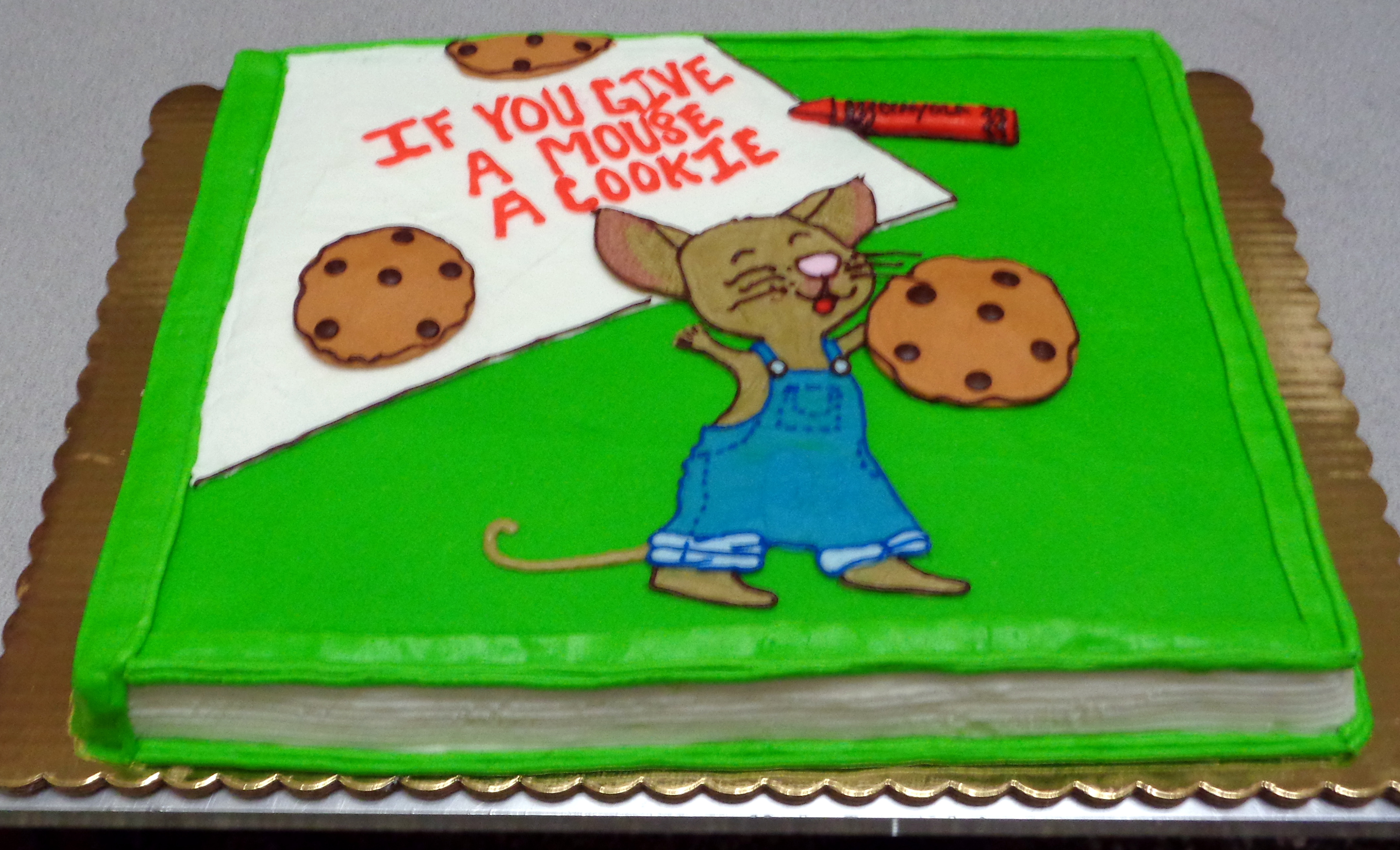 1st Book Cake 23