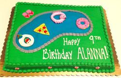 Pool Theme Cake 5