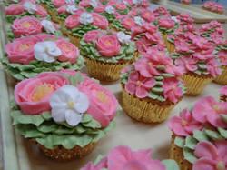 Pink Flower Cupcakes 7