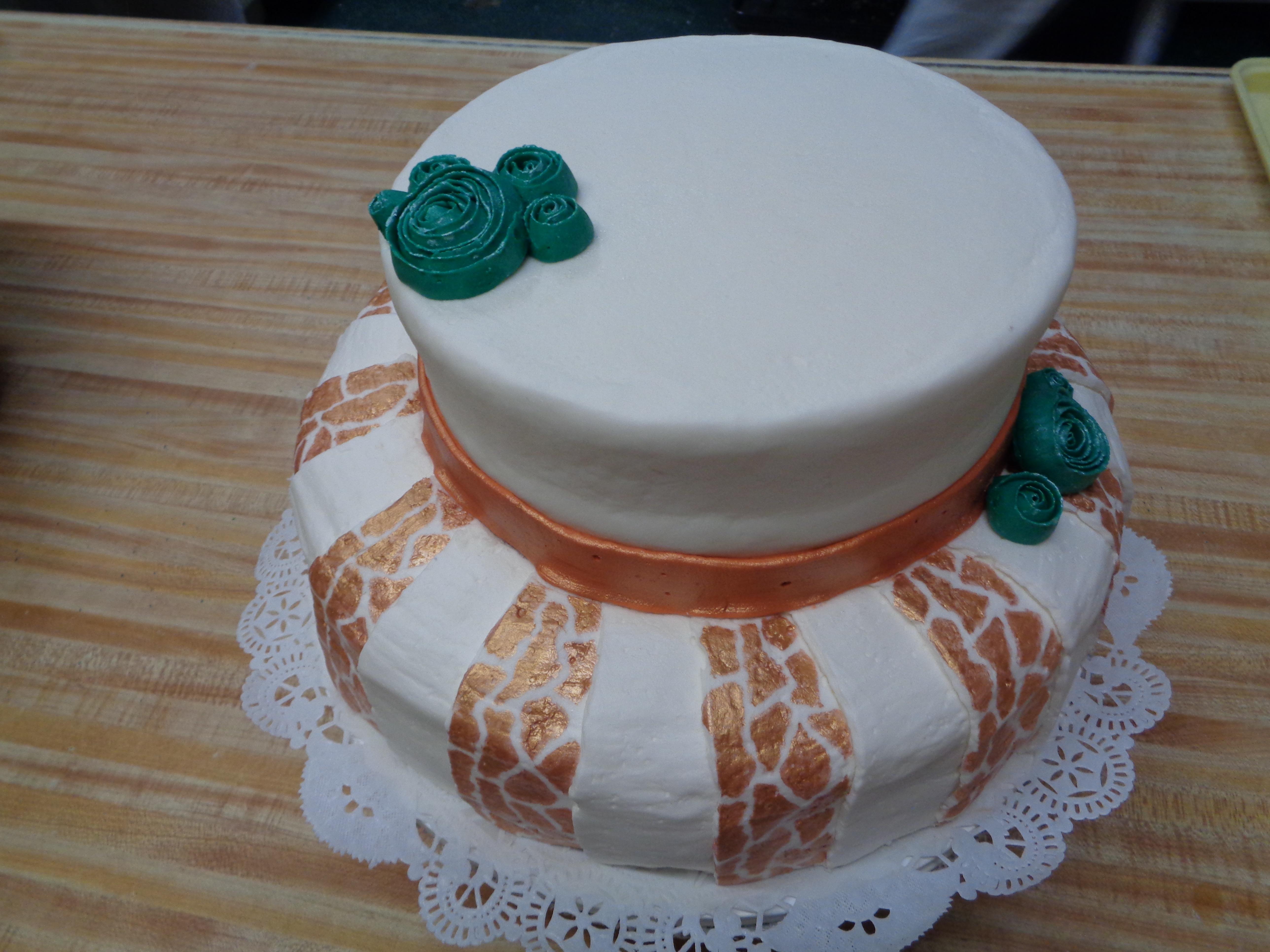 Giraffe Print Cake 41
