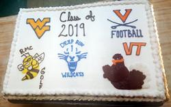 Multiple Logo cake 19