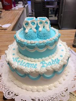 Blue Bootie Cake 11