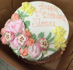 Spring Flower Cake 16