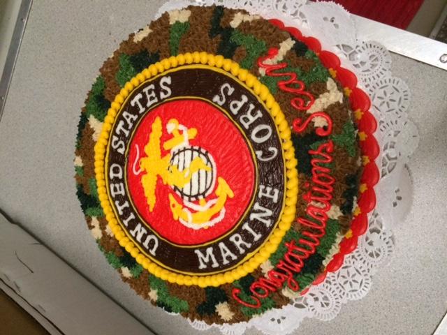 Marine Corps Cake 3
