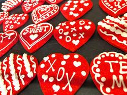 Red Heart Cookies 1
