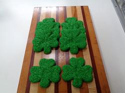 Green Clover Cookies