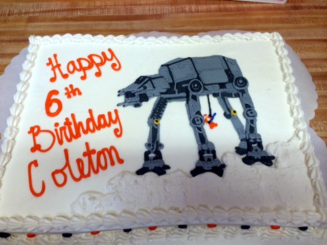 Star Wars Theme Cake 47