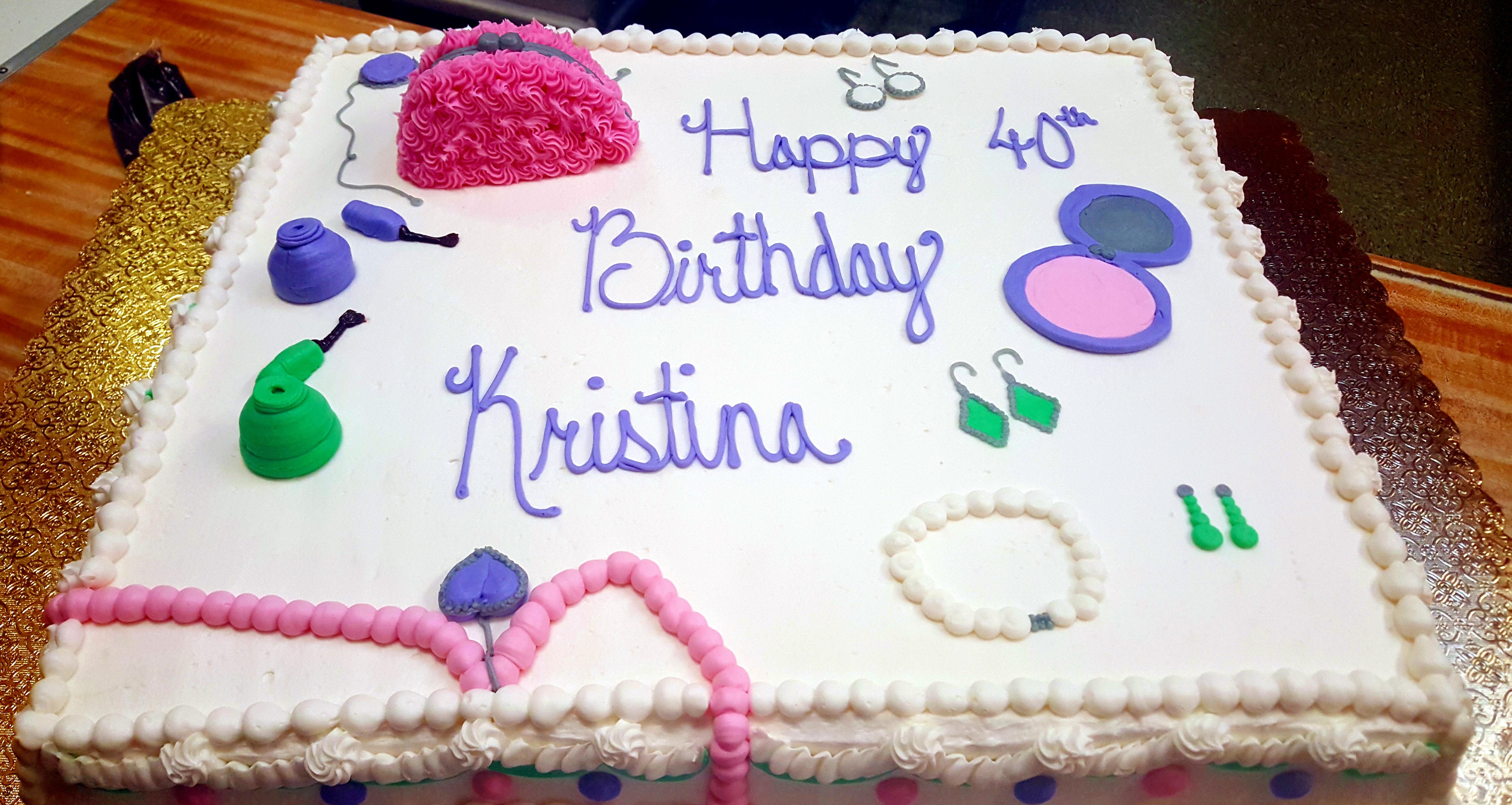 Fun Accessories Cake 58