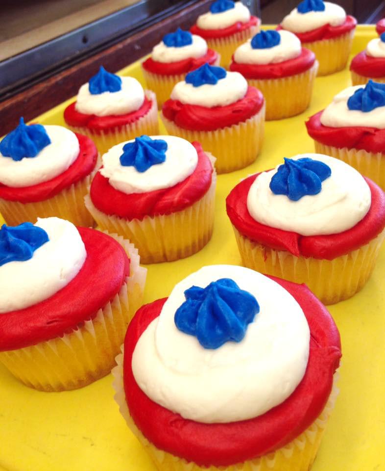 Patriotic Cupcake 9
