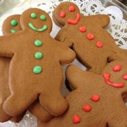 Red and Green Gingerbread Men