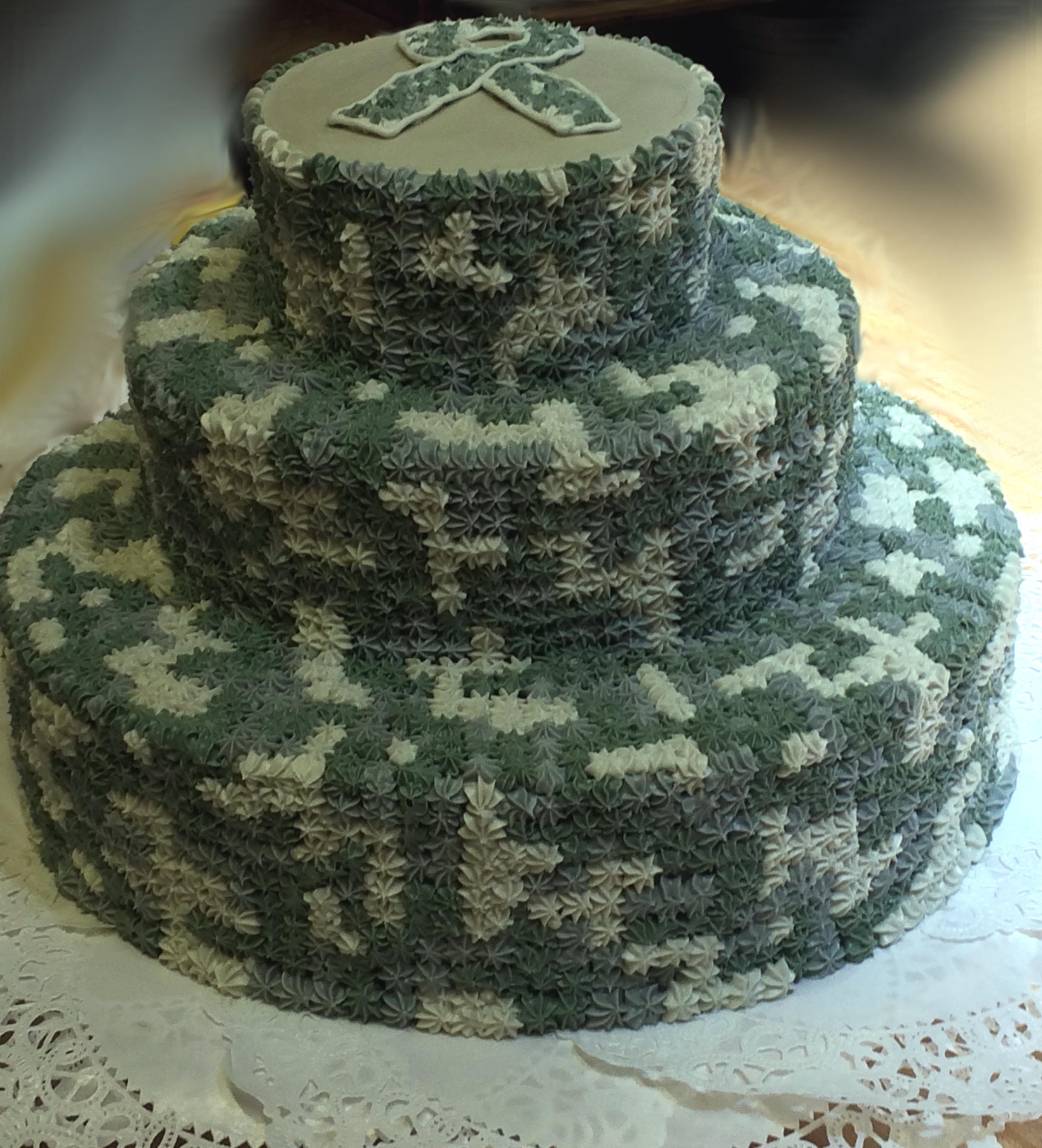 Army cake 40