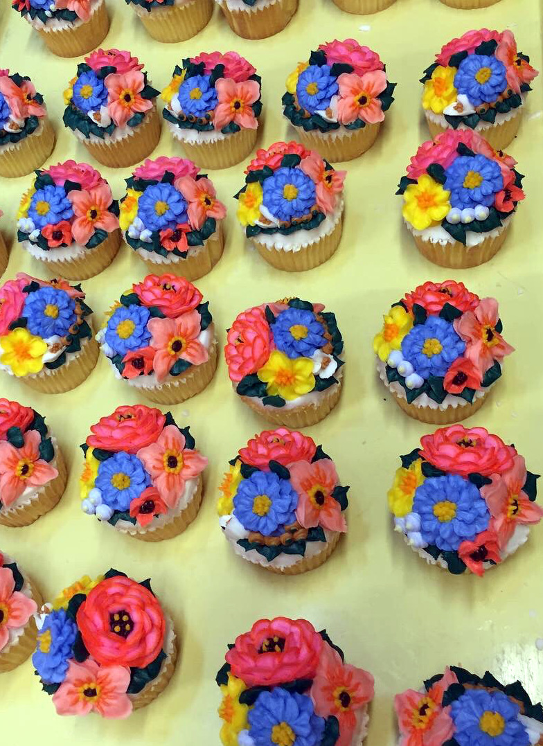 Flower Cupcakes 12