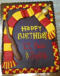 Harry Potter Theme Cake 49