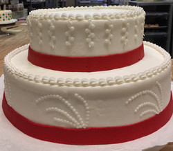 Red Ribbon 2 tier 17