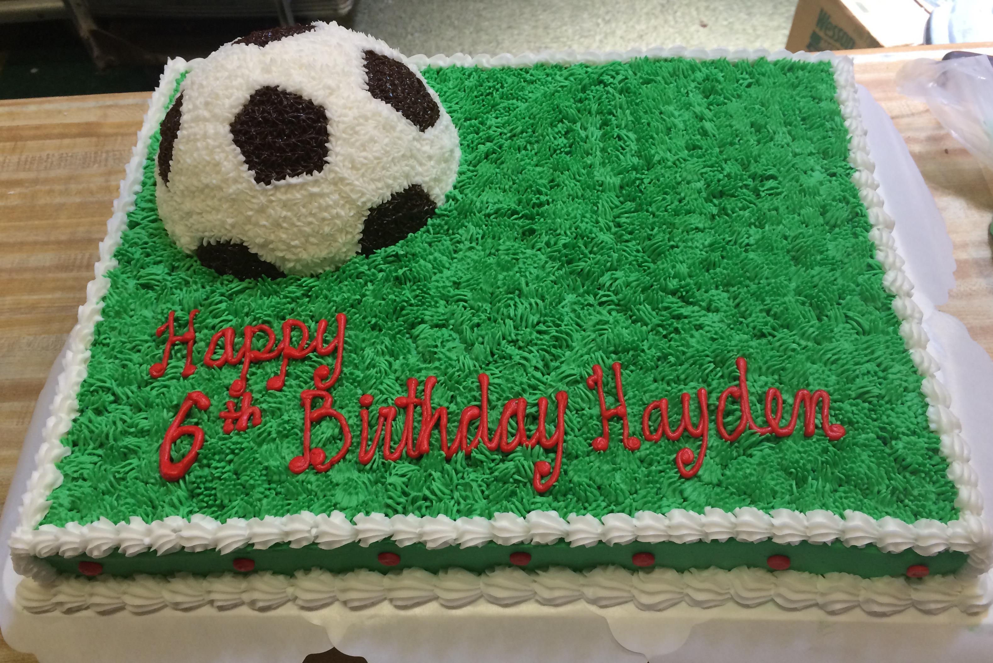 Soccer cake 61