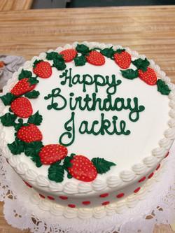 Buttercream Strawberry Cake 81