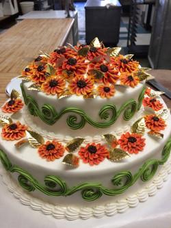 Orange Flower Cake 26