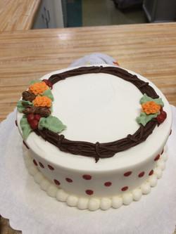 Fall Theme Cake 46