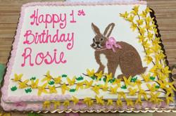 Rabbit Birthday Cake 31