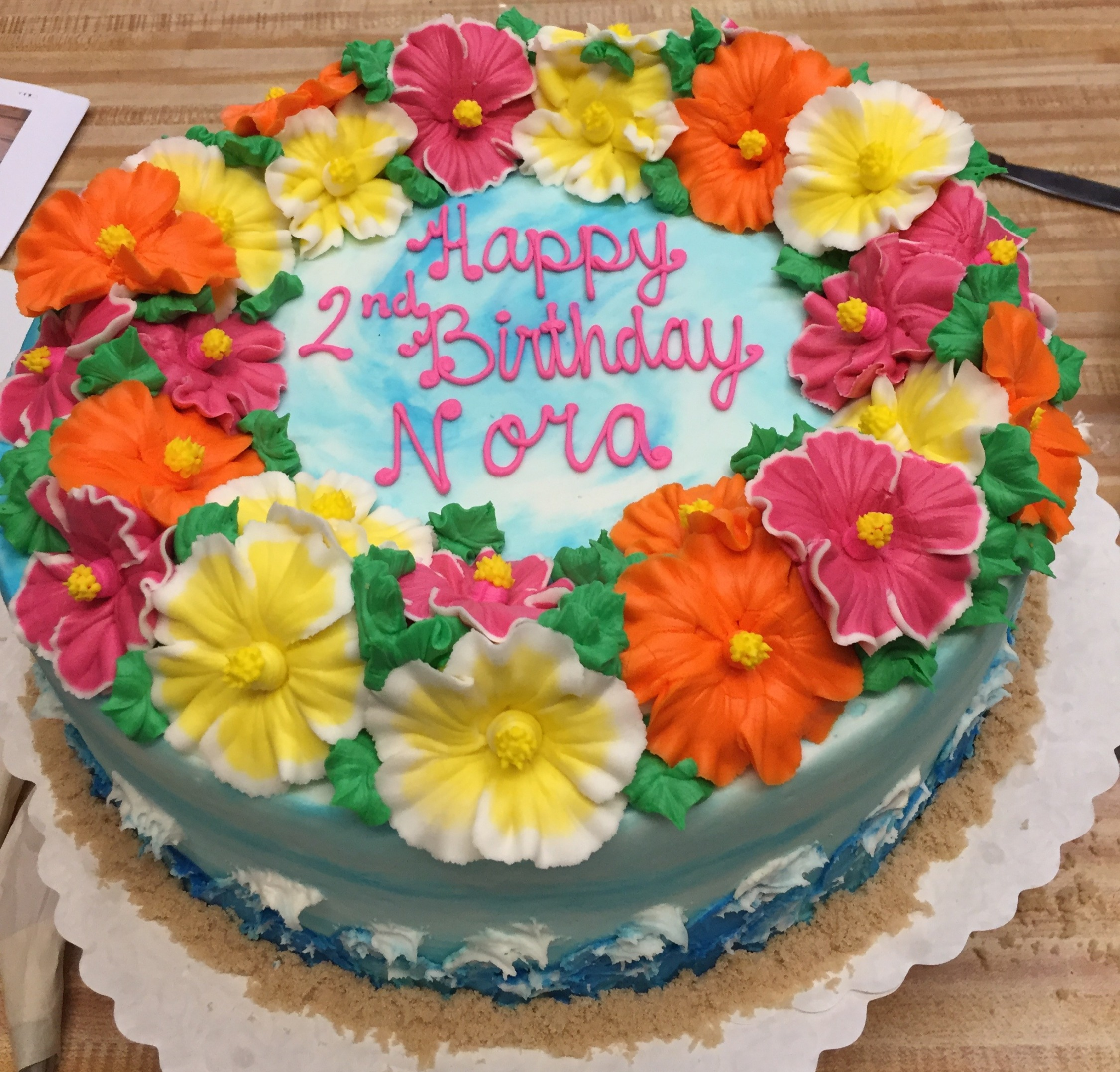 Hawaiian Flower Cake 24