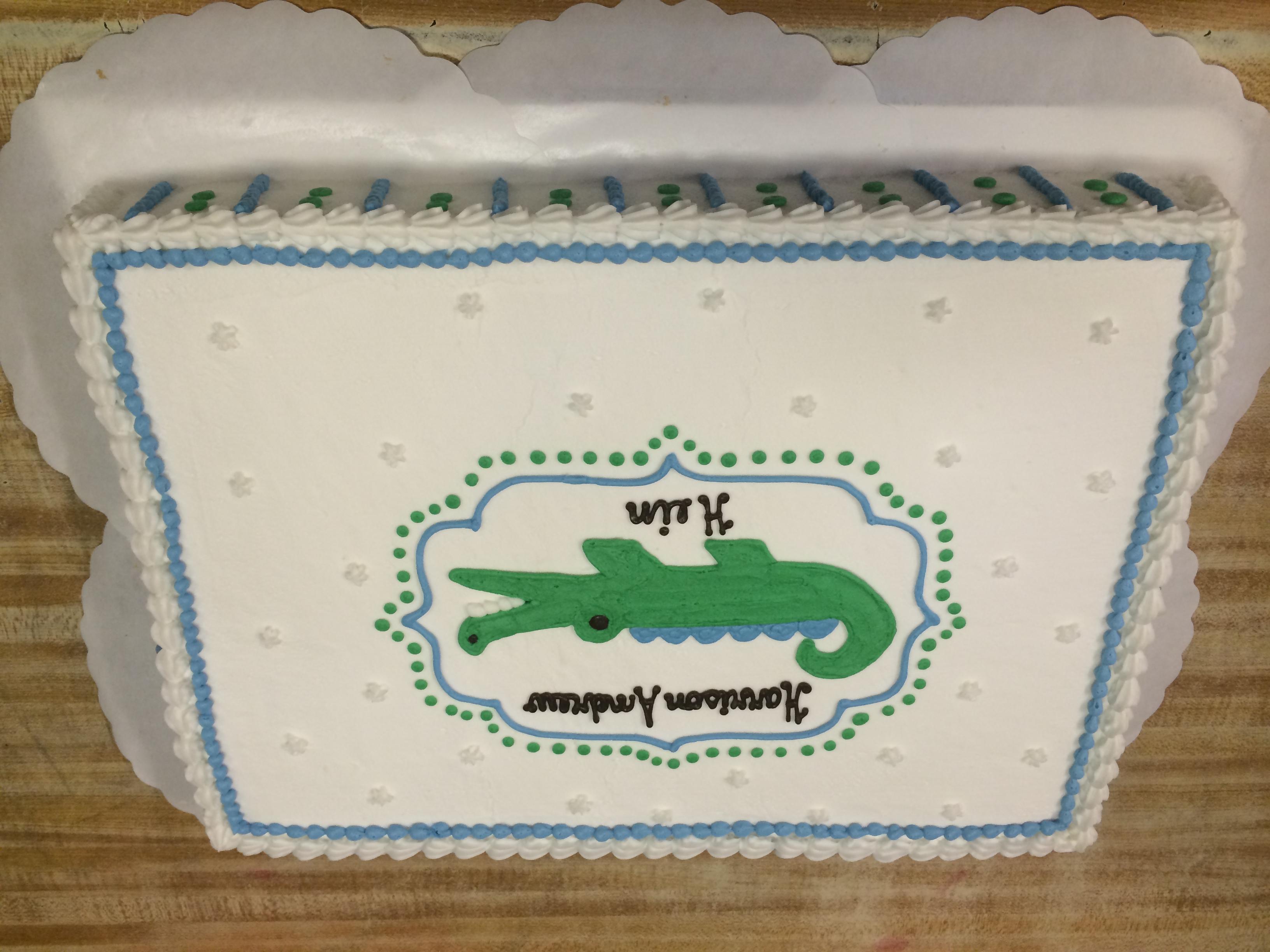 Gator Cake 18