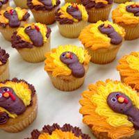 Turkey Cupcakes 2