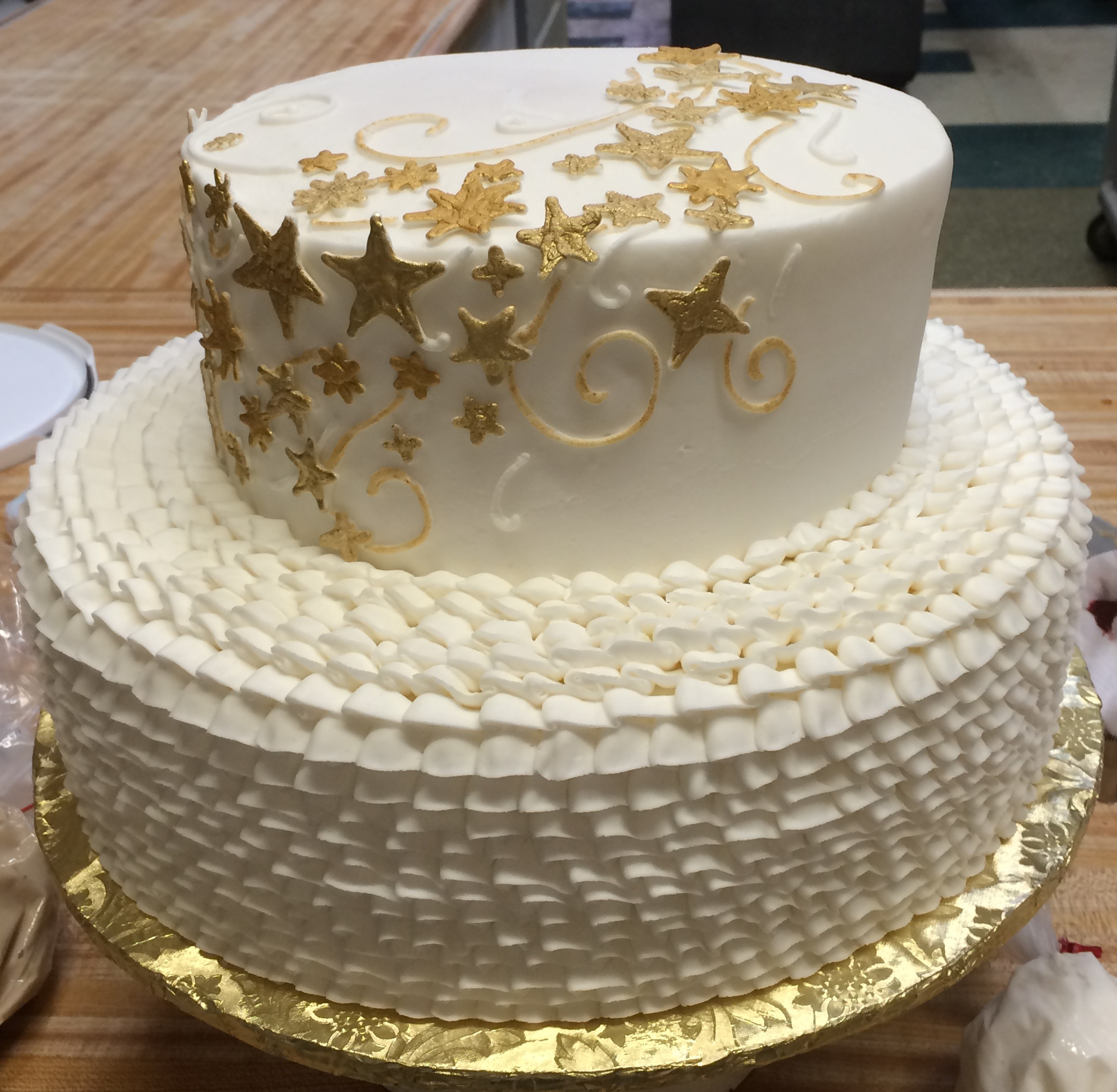 Goldstar Cake 10