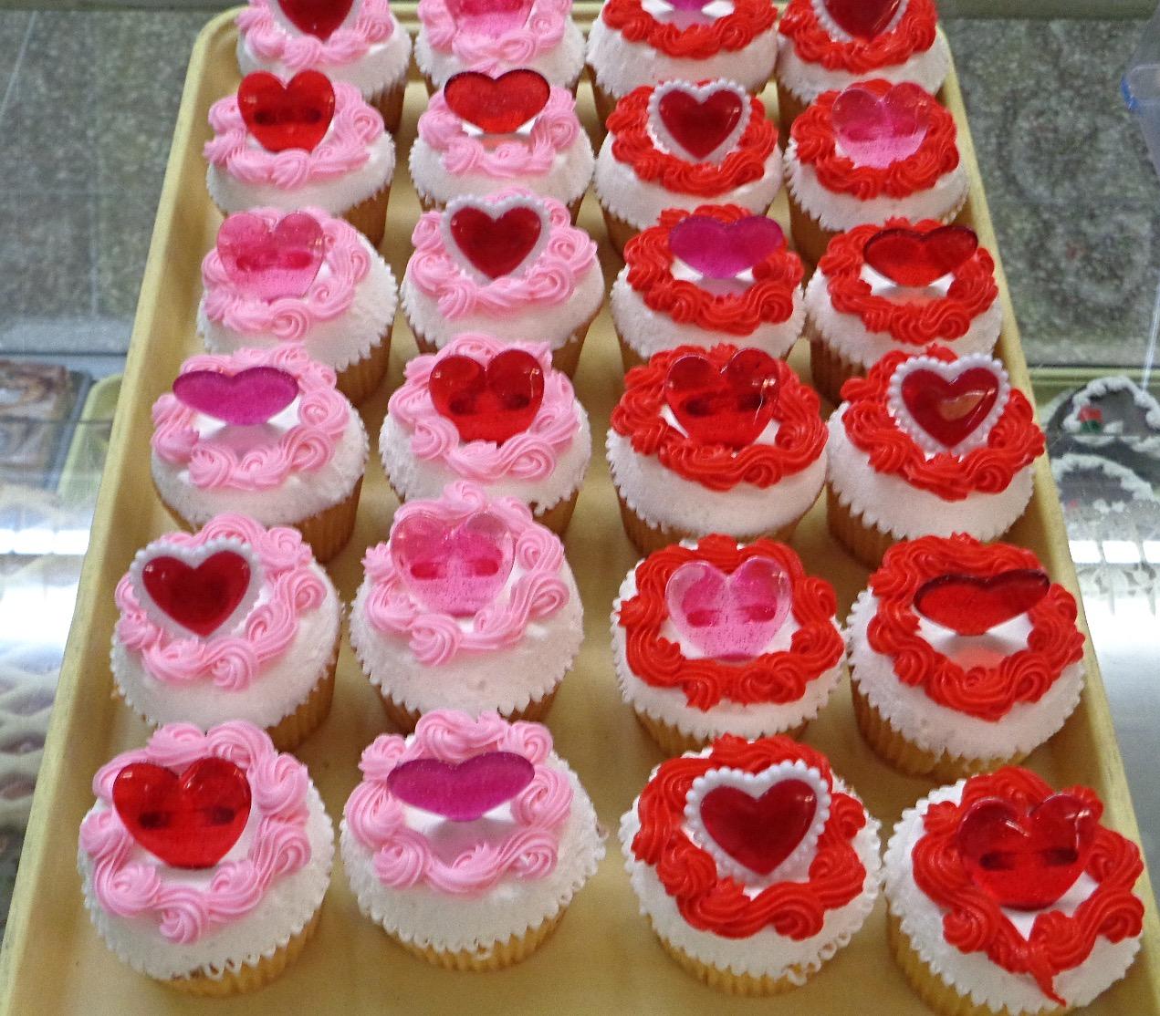 Valentine's Day Cupcakes 10