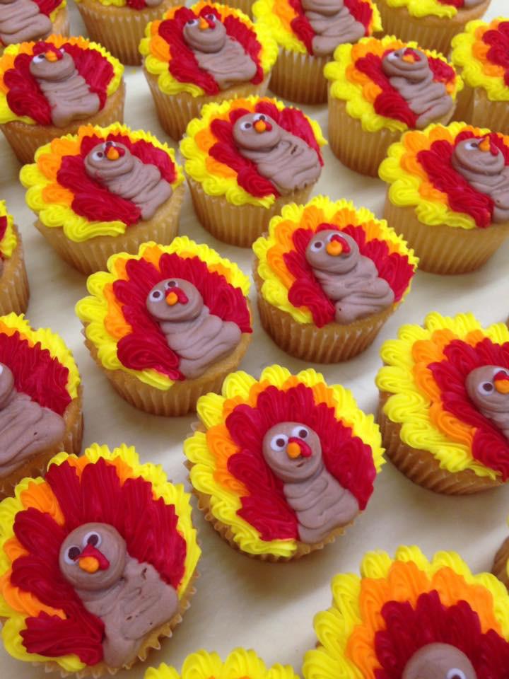 Turkey Cupcakes 22