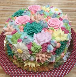 Succulent Cake 28