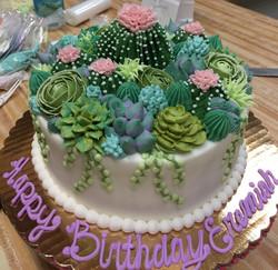 Cactus Flower Cake 1