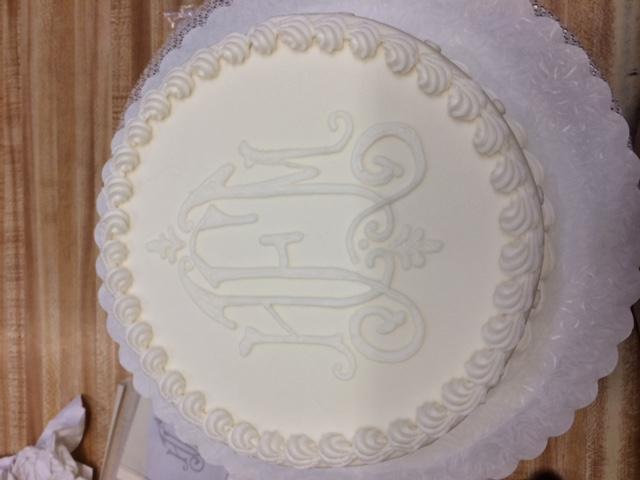 Monogram Cake 29