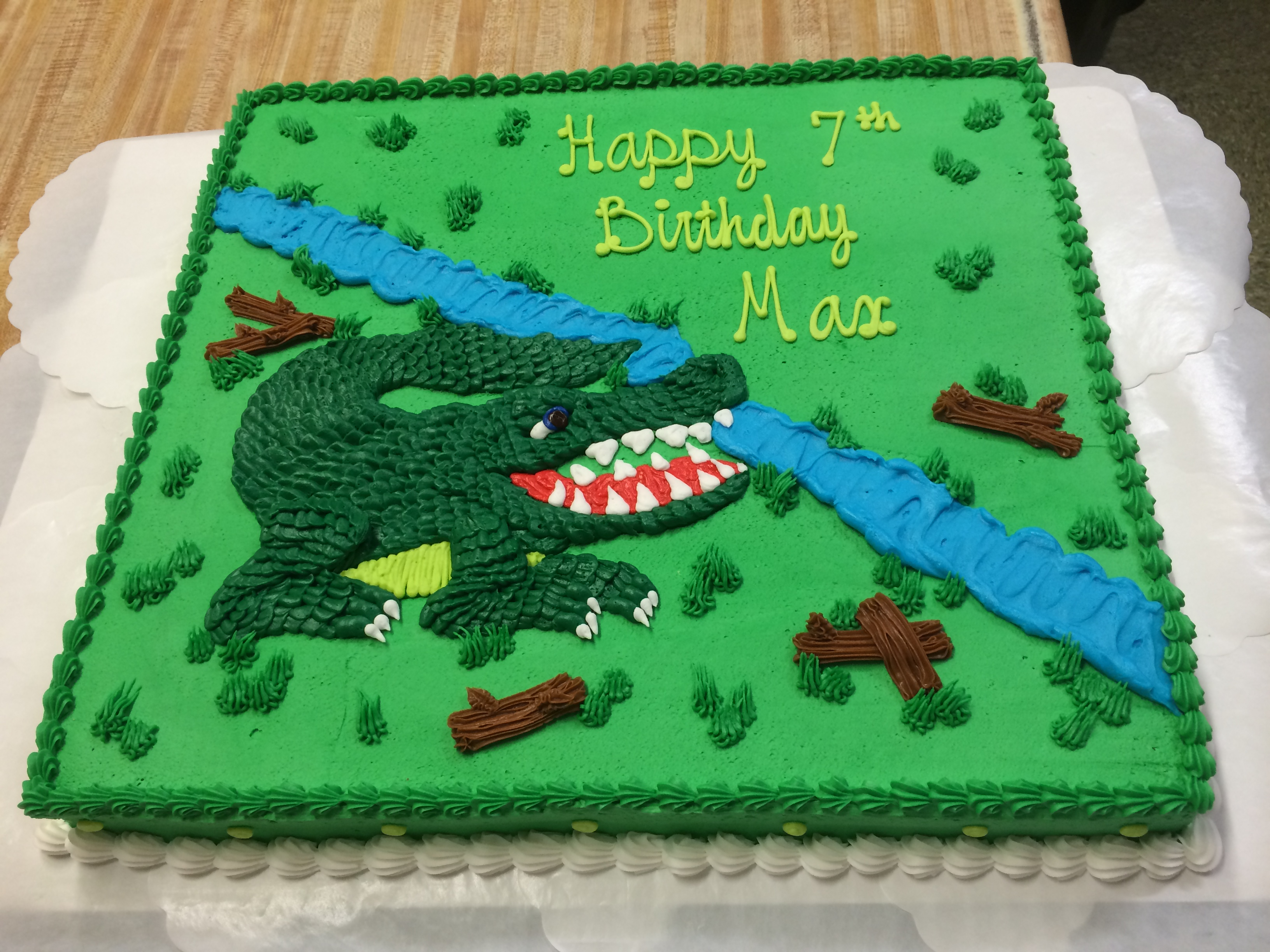 Alligator Birthday Cake 32