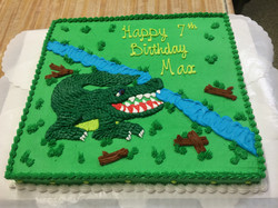 Alligator Birthday Cake 32