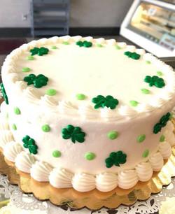Saint Patrick Theme Cake