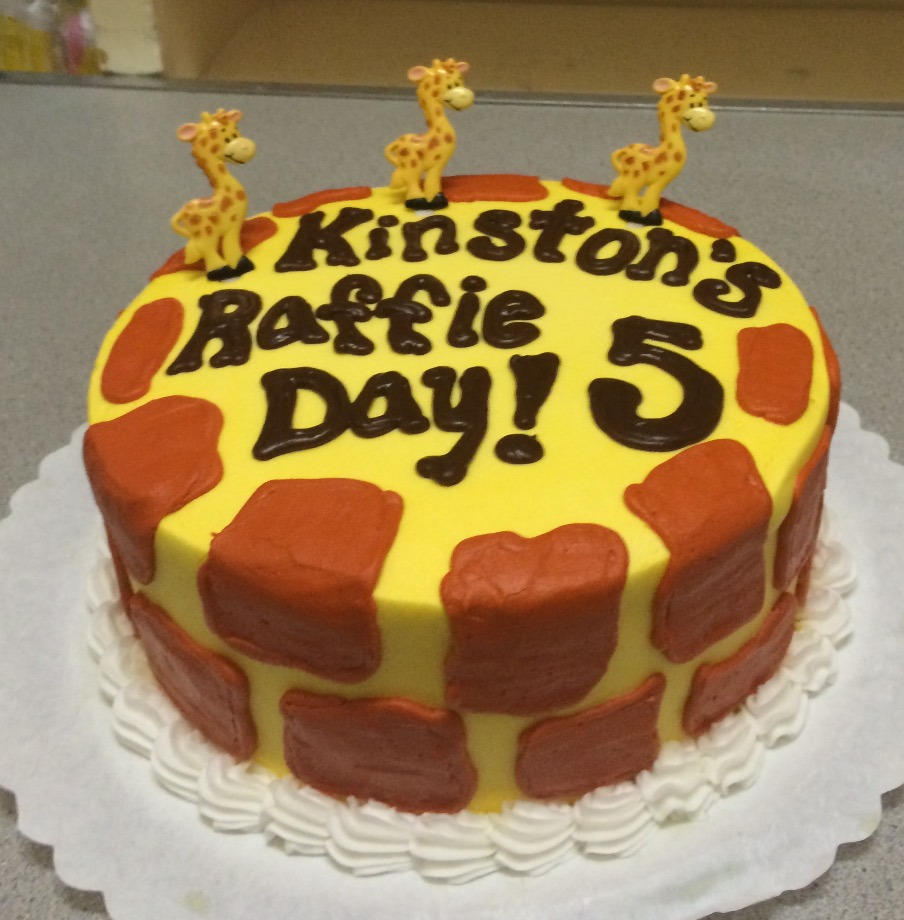 Giraffe Theme Birthday 22
