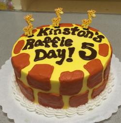 Giraffe Theme Birthday 22