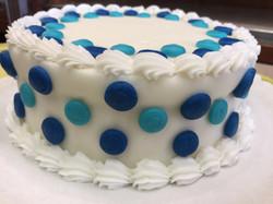 Large Polka Dot cake 49